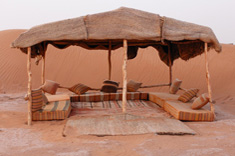 Traditional Berber Desert Camping Morocco