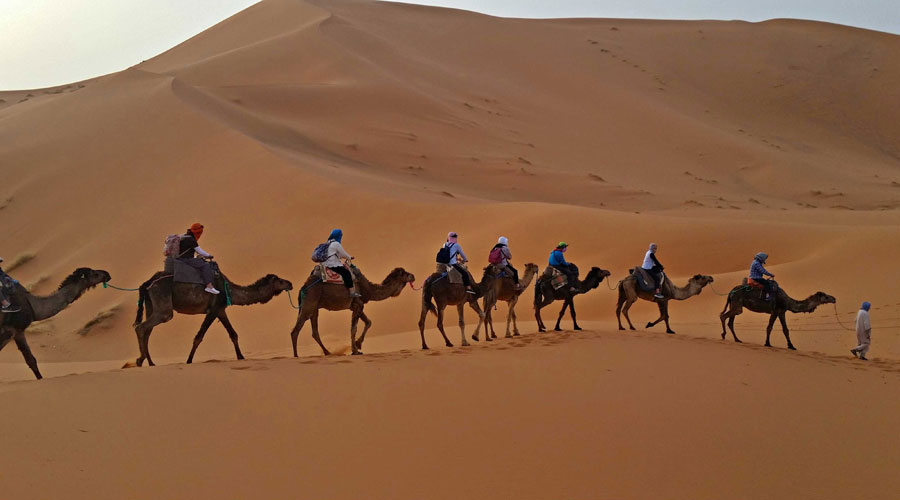 Desert Tour Erg Chebbi From Marrakech - 4 days 3 nights